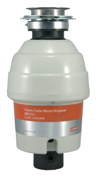 Franke Turbo WD-751 Food Waste Disposer
