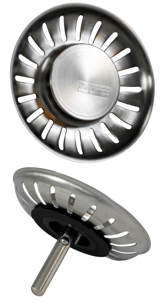 Franke replacement plug new style for basket strainer waste - Kitchen sink drain washer replacement ...