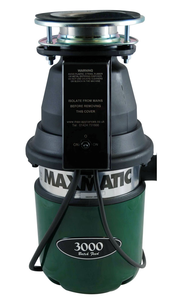 Maxmatic 3000 Food Waste Disposer (Batch Feed)