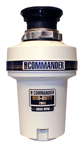 Commander 'Mid-Duty' 7500 Waste Disposer