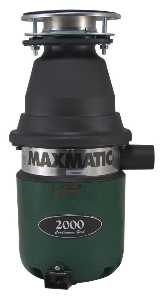 Maxmatic 2000 Food Waste Disposer