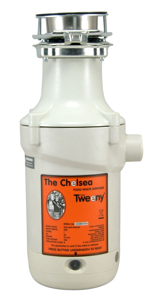 Tweeny Chelsea Waste Disposal Unit + Easy Push Switch