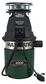Maxmatic 4000 Food Waste Disposer with Magnitube